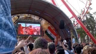 В парке Горького на праздник Холл на сцене!Смотреть всем!