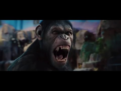 Planet of the Apes Trilogy - Complete Evolution of Caesar (tribute video)
