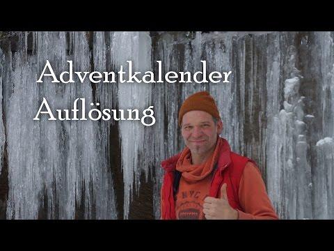Adventkalender der Youtuber - Auflösung