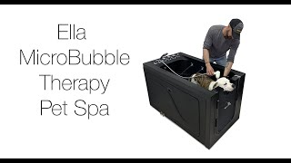 MicroBubble Therapy Pet Spa Dog Wash Video