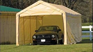 Portable Garage Ideas | Portable Garage Shed Design Ideas