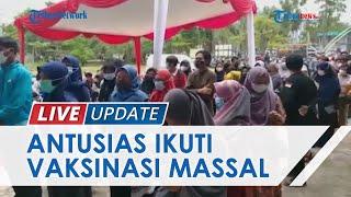 Gandeng Organisasi Kemahasiswaan, Polda Riau Gelar Vaksinasi Massal Campus to Campus