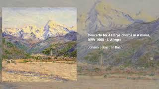 Concerto for 4 Harpsichords in A minor, BWV 1065