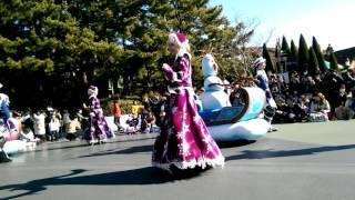 東京迪士尼樂園-冰雪奇緣遊行