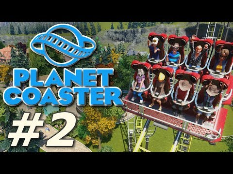 Planet Coaster - Heinrich's Hydeaway (Part 2)