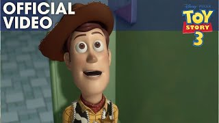 TOY STORY 3 | Bathroom Escape Clip | Official Disney Pixar UK