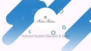 Brooks Brothers Featured Student Discounts & Deals