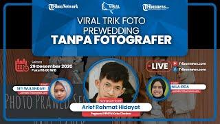 VIRAL STORY: Trik Foto Prewedding Tanpa Fotografer