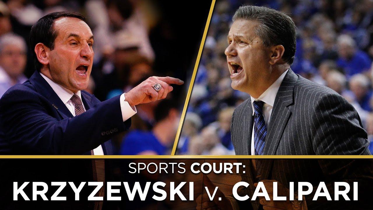Is the greatest college basketball coach Mike Krzyzewski or John Calipari? thumbnail