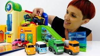 Учим английский с машинками. Мультик 4 машинки - Маша Капуки - Английский для детей