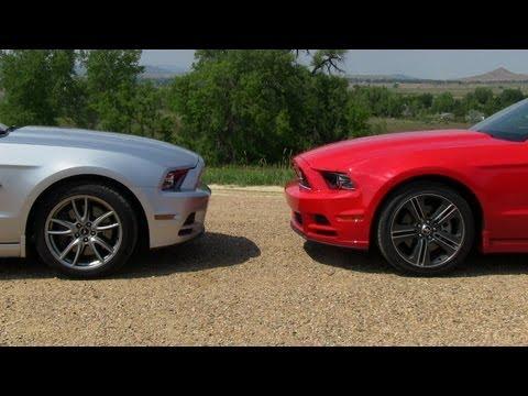 2017 Ford Mustang Gt Vs V6 0 60 Mph Mile High Mashup Test