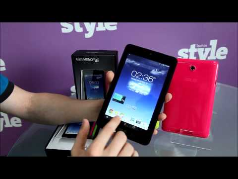ASUS MeMO Pad HD 7 Hands-on Overview and Unboxing