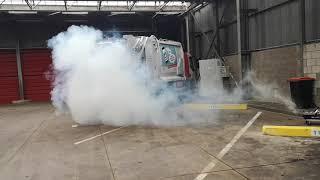 Rookproef ventilatiesysteem vuilniswagens