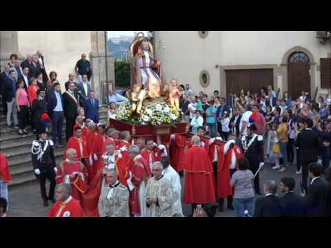 Calascibetta Agosto 2016. Processione di San Pietro Apostolo.