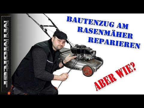 Bowdenzug am Rasenmäher Reparieren von M1Molter