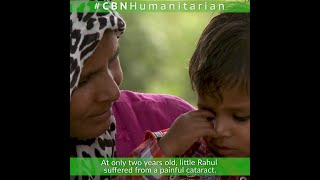 CBN Humanitarian Helps Little Rahul See