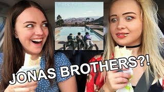 Drive With Us! *New* JONAS BROTHERS ALBUM REACTION!