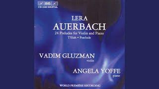 Postlude for Violin and Piano (Andante)
