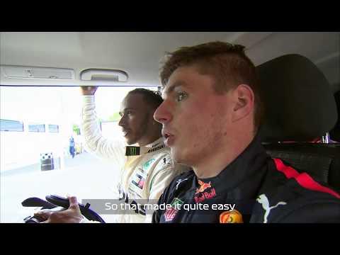 Verstappen & Hamilton Discuss Vettel Incident | 2018 French Grand Prix