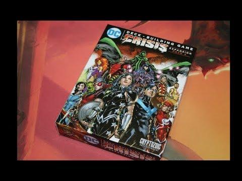 The Discriminating Gamer: DC Comics Deck Building Game: Crisis Expansion Pack #4