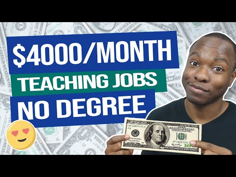 Earn $4,000 PER MONTH PayPal Money Teaching Online - NO DEGREE! (EASY Work From Home Jobs)