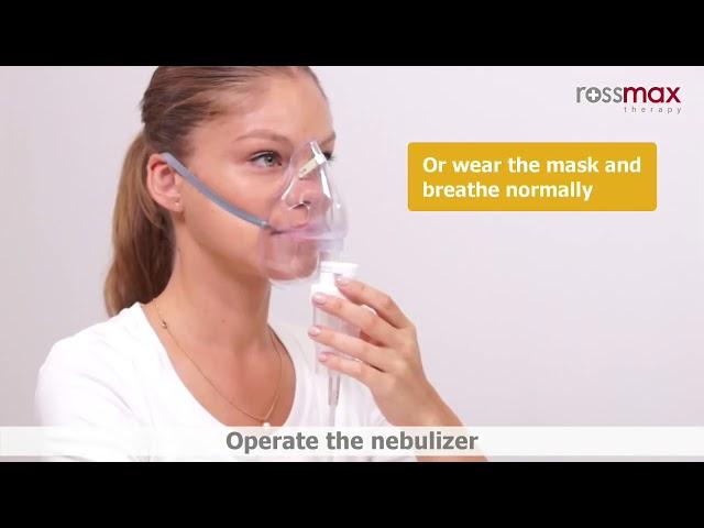 جهاز الرذاذ للتنفس روزماكس اجهزة التنفس بالبخار