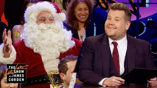 Santa Claus Visited The Late Late Show!!
