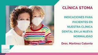 Clínica Stoma - Protocolo para Pacientes que acuden a la clínica contra el Covid-19 - Clínica Stoma Alcorcón