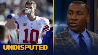 Skip and Shannon react to reports that Eli Manning will start Week 14 vs Dallas   UNDISPUTED