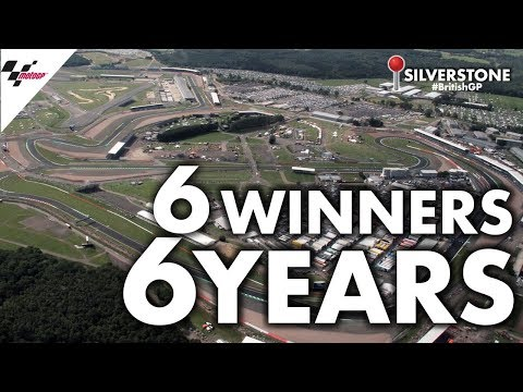 6 different winners in 6 years at Silverstone! #BritishGP