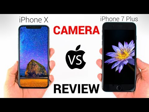 iPhone X vs iPhone 7 Plus – CAMERA REVIEW!