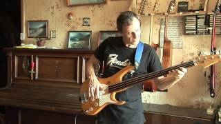 Алексей Леляев  ABBA Bass cover Head over Heels