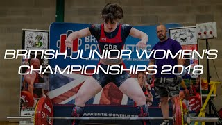 British Junior Women 2018