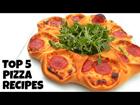 5 CRAZY COOL PIZZAS You Can Easily Do At Home - Inspire To Cook - (DIY, Top, Best Homemade Recipes)