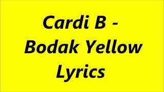 Bodak yellow lyrics video