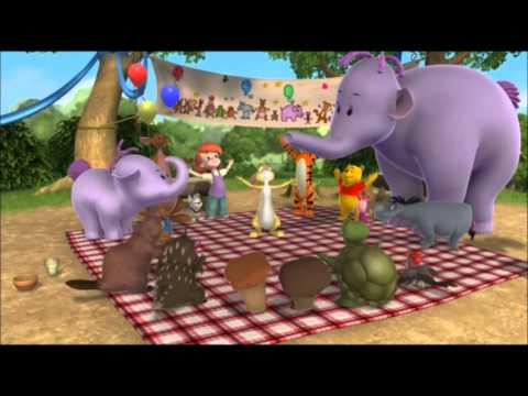 Medvídek Pú - Moji kamarádi Tygr a Pú (Tygr a Pú v muzikálu): My jsme šťastná rodina...