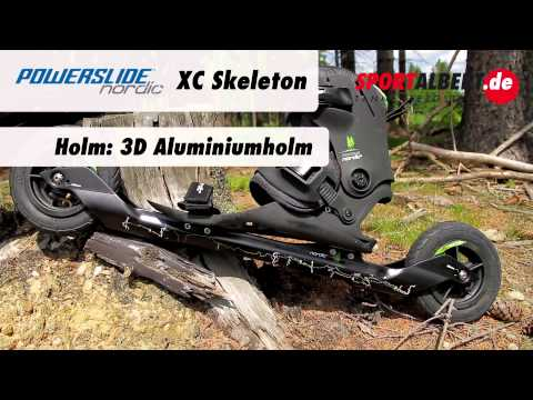 Crossroller: Powerslide XC Skeleton von www.sportalbert.de