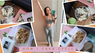 How I carb cycle for fat loss! (without counting calories)