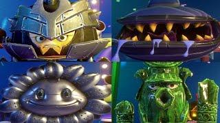 PVZ Garden Warfare 2: ARMOUR HEROES Garden Ops (Iron Citron, Jade Cactus, Metal Petal)