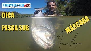 Dicas de Pesca Subaquáticas Máscaras | Como escolher sua Máscara de Pesca Sub (Spearfishing)