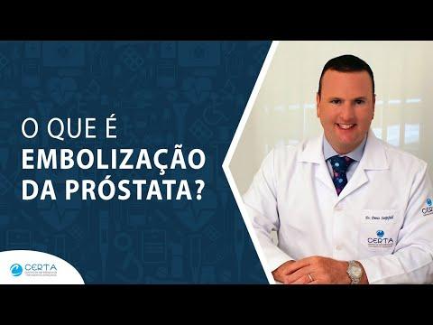 Medição da próstata urina
