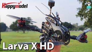 Happymodel Larva X HD - Review, Setup & Flight Footage