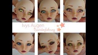BJD Augen basteln - neue Augen für Ivy