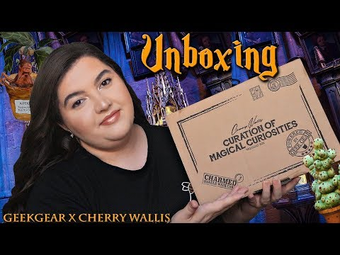 UNBOXING HARRY POTTER | CHERRY WALLIS x GEEKGEAR