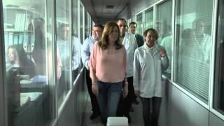 preview picture of video 'Susana Díaz visita cooperativa Hortamar en Roquetas de Mar'