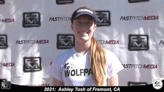 2021 Ashley Tosh Athletic, Speedy Shortstop & Outfield Softball Skills Video - Lady Wolfpack 18 Gold