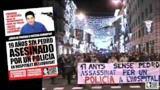 preview picture of video 'Concentració 15D Pedro Alvarez Assessinat per un policia'
