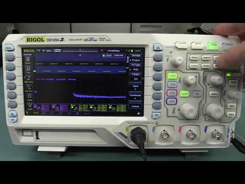 4 Channel DSO with 100 MHZ Bandwidth,1GSa/s,12 Mpts-DS1104Z