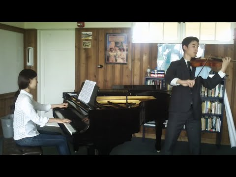 An arrangement for viola I made and performed widely, recorded with Michelle Lee, pianist, at the Music Academy of the West, 8/9/14.