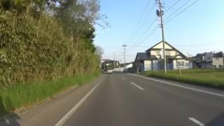 車載動画秋田県潟上市ブラブラ⑥潟上市市役所~焼鳥佐藤